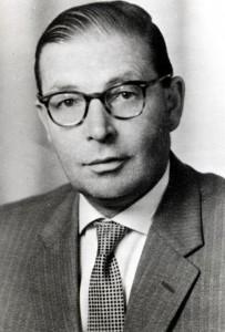 Vorsitzender: <b>Karl BECKER</b> (bis 1945) - 1937-1945-Vorsitzender-Becker-Karl-203x300