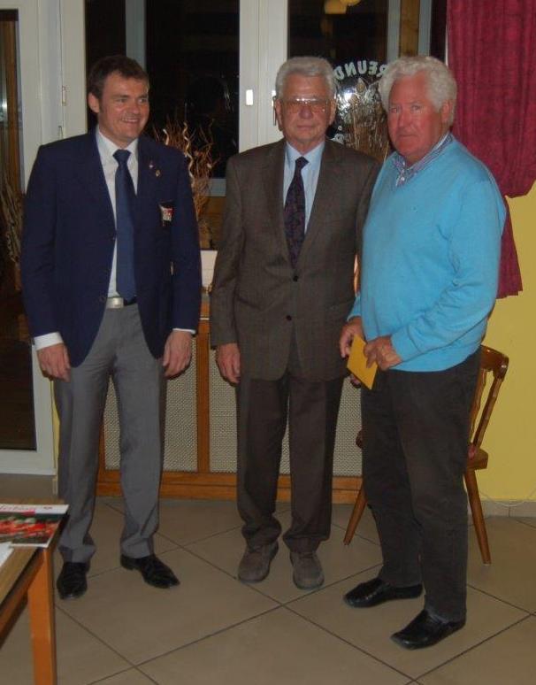 v.l.n.r. Andreas Kabs, Horst Neubauer, Klaus Gronau