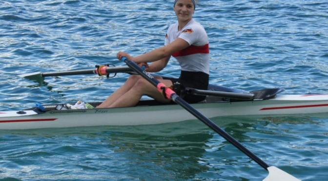 Alicia Bohn mit Leistung vollauf zufrieden