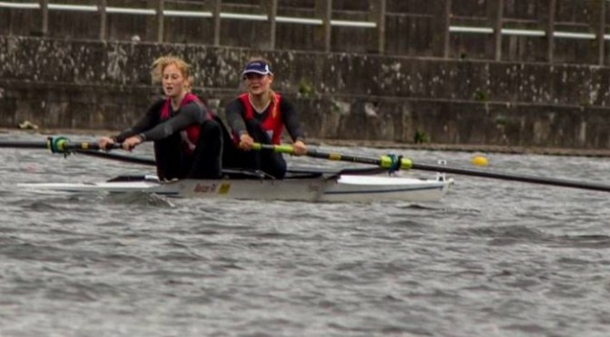 Gold und Silber bei Internationaler Regatta in Gent