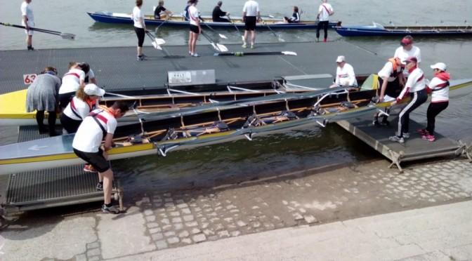 Speyerer auf dem Rhein am Start