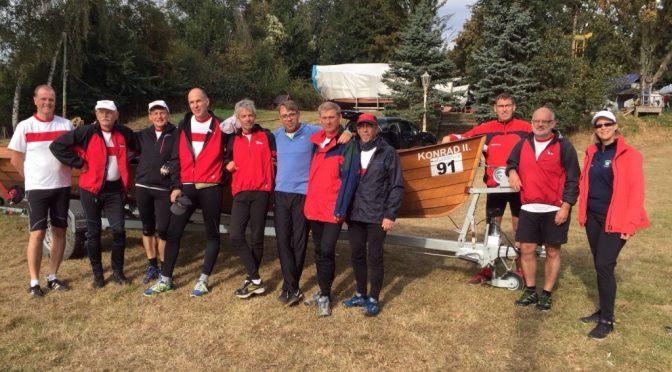 Gold für Kirchbootteam beim 45. Rheinmarathon