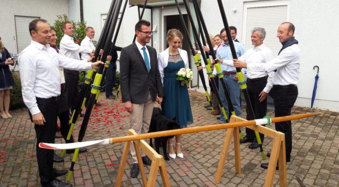 Martin Kühner im Hafen der Ehe
