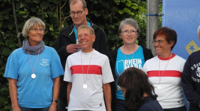 45. Düsseldorfer Rheinmarathon:  Silber für Frauenmannschaft und Kapriole des Schicksals