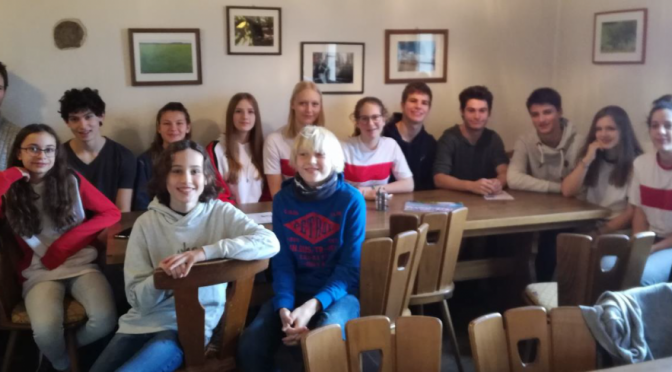 RGS-Jugend auf dem Kiesbuckel