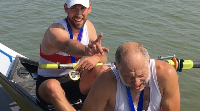 RGS-Masters-Mannschaft überrascht –  5 Titel bei FISA World Rowing Masters Regatta geholt