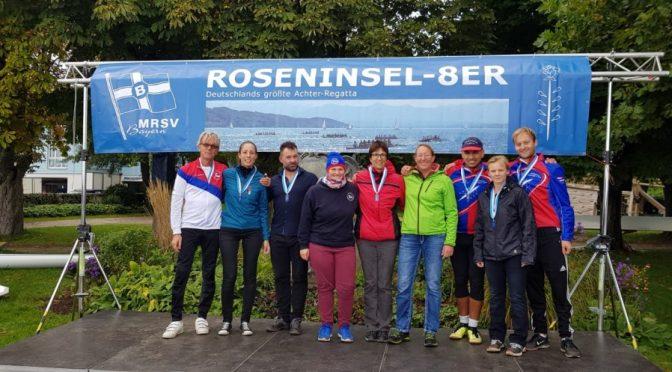Sieg beim Roseninsel Achter – Zweite Plätze beim Langstrecken-rennen auf der Mosel