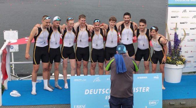 Zwei Medaillen und zahlreiche Finalteilnahmen der Speyerer RuderInnen bei den Deutschen Jugend- und Jahrgangsmeisterschaft 2021 in Essen