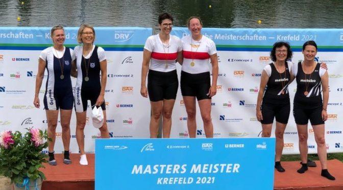 Gold und Bronze bei Masters-Meisterschaften in Krefeld gewonnen
